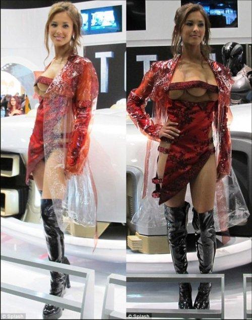 奇闻异事:长着三个乳房的美女模特组图 新闻