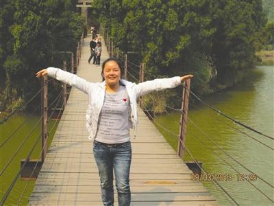 23岁女大学生离奇失踪 出门散步便未归(图)