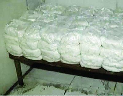 黑作坊日产千斤粉皮 负责人称办不下来手续(图)