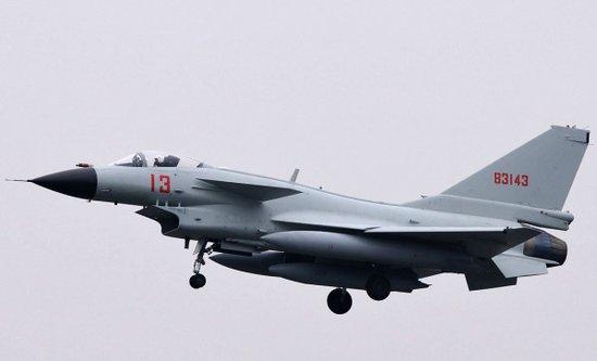 日媒称10余架中国军机飞临钓鱼岛 首现战斗机