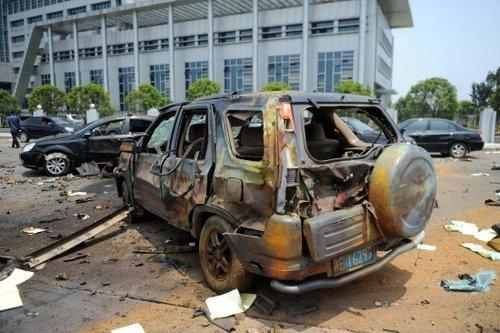 江西抚州爆炸案16名官员被严处 原区长被撤职