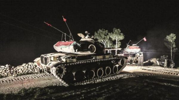 土耳其坦克连夜开入伊拉克 伊拉克:这是入侵(图)