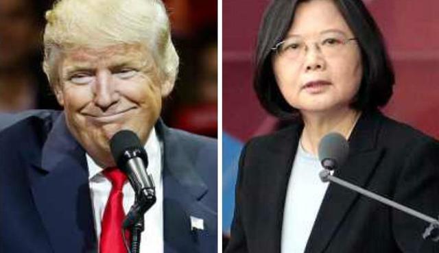 特朗普炫耀与蔡英文通话 被美媒批犯下菜鸟错误