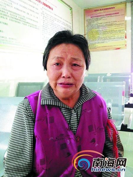 重庆老太来海南找儿子 自己迷路住进救助站