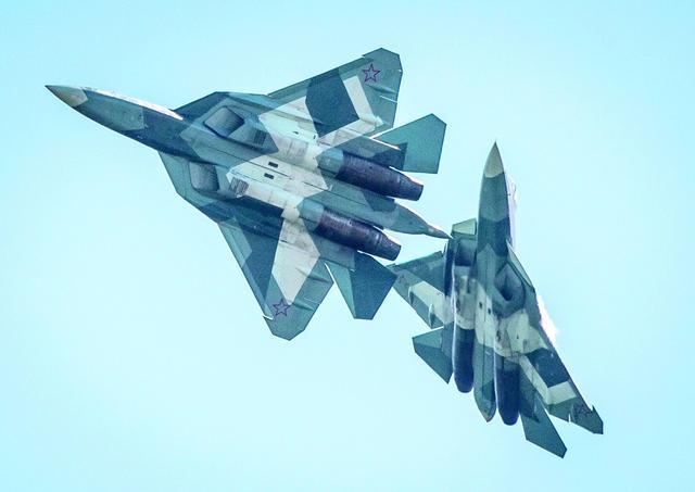 西方唱衰俄最新苏57隐身战机 印度却眼馋心急