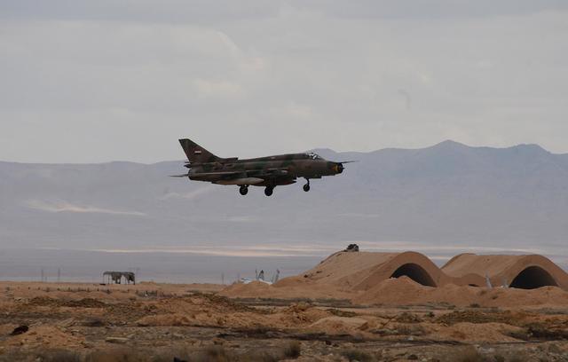 叙军一架米格-21战机在叙南部坠毁 反对派武装称系其击落