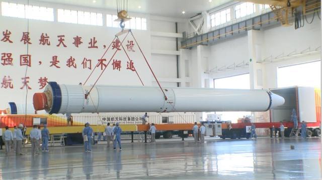 长征七号运载火箭安全运抵文昌航天发射场