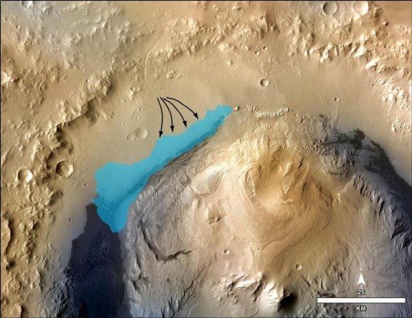 火星上發現已干涸遠古淡水湖 或存簡單微生物
