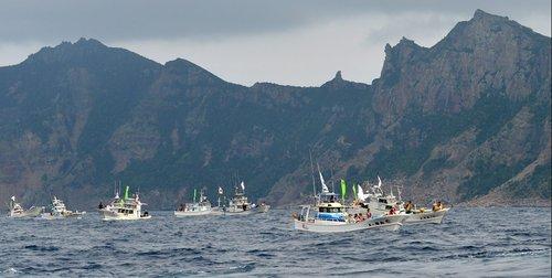 东京都8名议员赴钓鱼岛考察 预计26日早上抵达