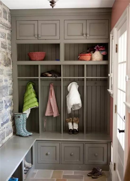这样的入户鞋柜设计 你可还满意?