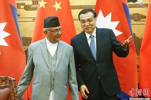 中国或允许尼泊尔使用广州港 两国间将修建铁路