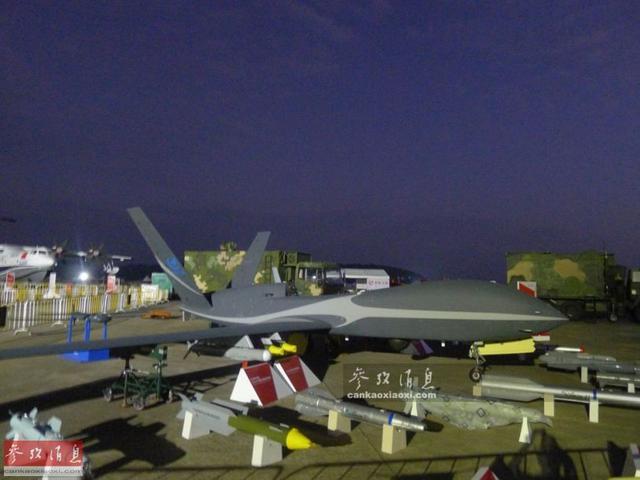 """揭秘""""云影""""无人机:机载导弹射程88公里(图)"""