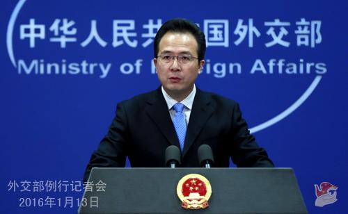 朴槿惠望中国采取行动对朝鲜进行制裁 外交部回应