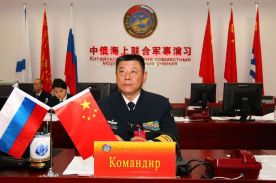 田中升任海军副司令员 邱延鹏接任北海舰队司令