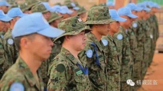 日称自卫队将护卫中国维和部队 解放军:笑话