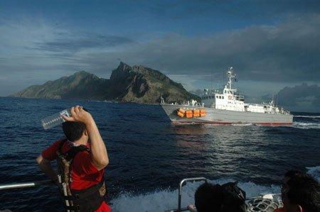 台湾当局重申钓鱼岛主权 强调主权在我共同开发