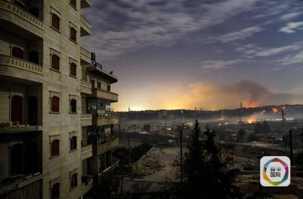 叙利亚政府军收复阿勒颇一重要区域
