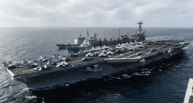 美航母两会期间搅动南海 刺激中国人反感情绪