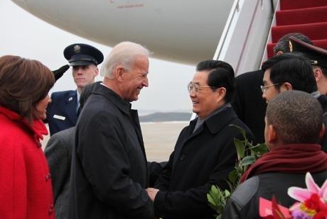 外交部:美国副总统拜登将于8月中旬正式访华