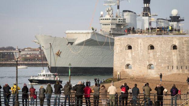 英国服役32年航母被当废品出售 200万贱卖土耳其