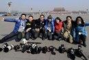 政协闭幕摄影记者晒装备