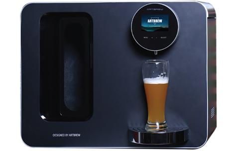 一款能让你在家也能嗨翻天的智能啤酒机
