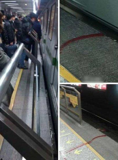 上海地铁2号线一男子跳轨身亡 10天内第2起(图)