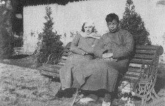 在苏联的蒋经国夫妇<