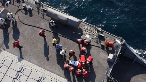 美军舰与菲律宾货船相撞 7名美军人员丧生