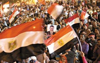埃及数百万民众示威要求总统下台 军方或介入