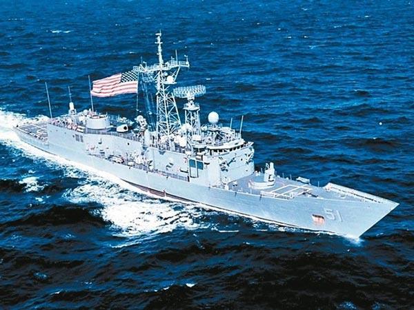 台军方赴美接收二手军舰 以台湾巡抚和抗日英雄命名