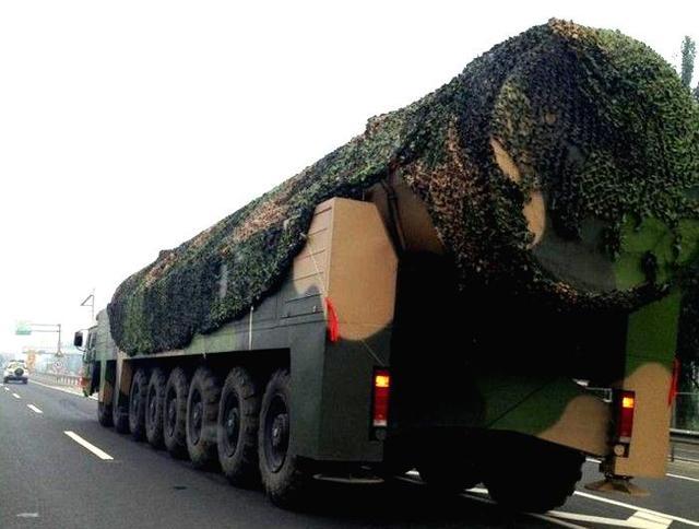 日媒:抗战阅兵东风41或首曝光 射程超1.2万公里