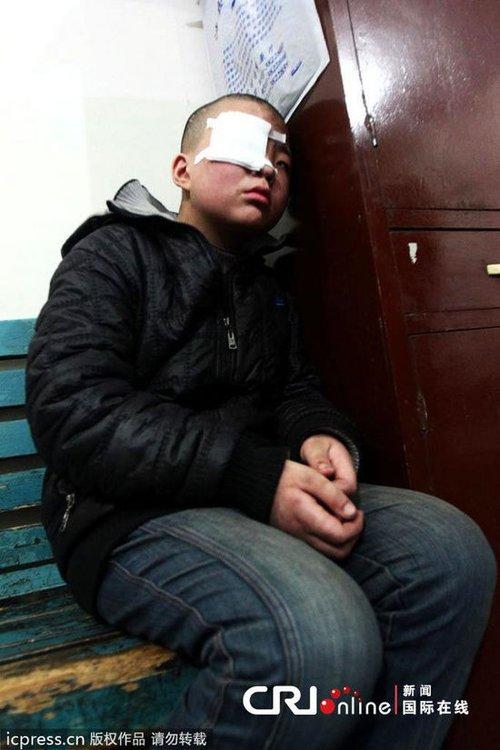 河北15岁男童打工遭虐待 屁股被割数十刀(图)
