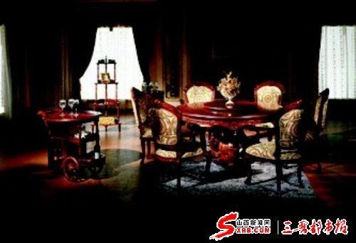新新闻在太原红木家具家具遇冷(图)_国标_腾广中山市场泰图片