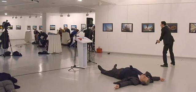俄罗斯驻土耳其大使遭枪击身亡