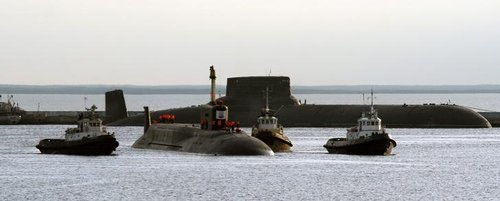 美媒:俄核潜艇事故很频繁 大半时间停靠码头