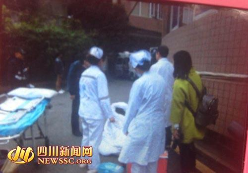 泸州一学校女老师成都培训 赤裸身体从酒店跑出
