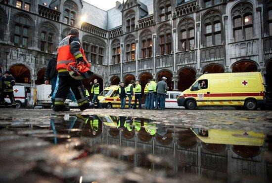 比利时手榴弹袭击事件已致5人遇难123人受伤