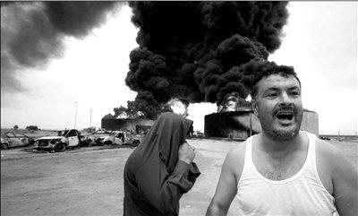 卡扎菲尸体轻度腐烂被秘密葬于沙漠(组图)