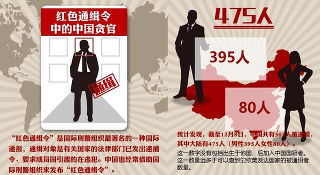 503名中国人遭全球通缉 包括程维高之子