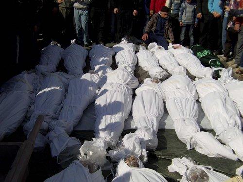 叙利亚暴力事件升级 政府军炮击造成33人死亡