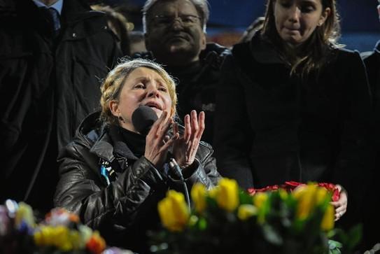 季莫申科宣布竞选乌总统 许诺强军夺回克里米亚