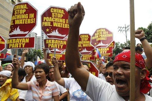 菲律宾今日将举行反华示威 组织者已召集5000人