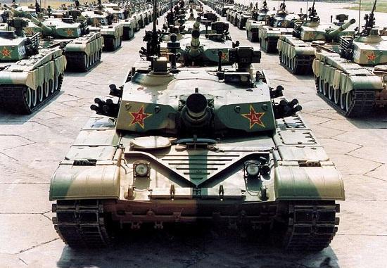 99A令中国坦克跻身世界一流