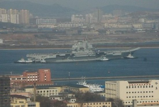 中国航母今日再次出海试验 改装测试完成(图)