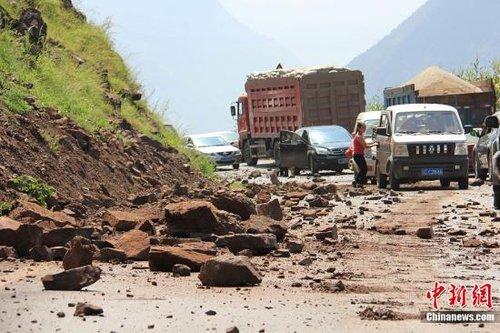 云南彝良地震灾区学校全面停课 3名学生遇难