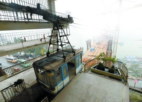 重庆嘉陵江索道开始拆除 部分部件将作文物保留
