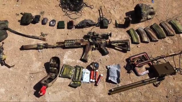 向我开炮:驻叙俄特种兵绝境中与IS同归于尽