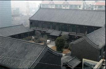 谷俊山将军府:仿照故宫建筑建造 耗时三年建成