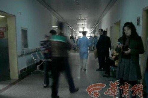 西安爆炸现场直击:医院人满为患(组图)